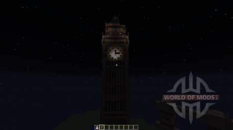 Big Ben для Minecraft