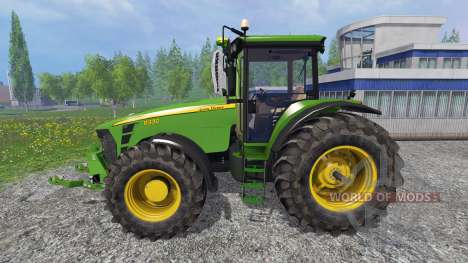 John Deere 8330 v4.1 для Farming Simulator 2015