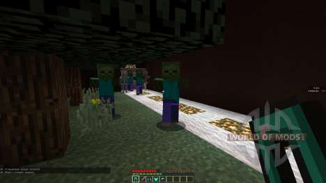 Monster survival для Minecraft