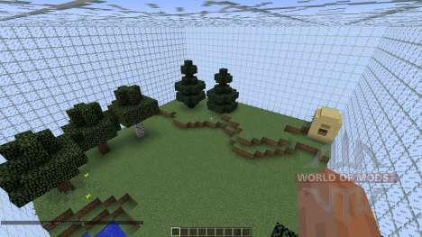 Little sky survival для Minecraft
