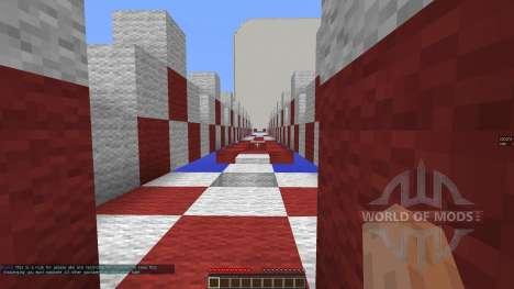 iCrave Parkour для Minecraft