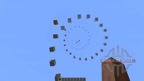 Spiral Parkour для Minecraft