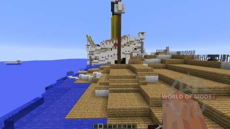 H.M.H.S.Britannic sinking для Minecraft