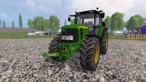 John Deere 6830 Premium FL v3.0 для Farming Simulator 2015