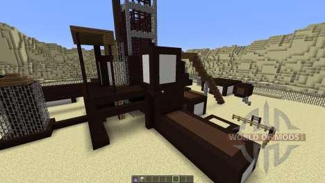 Rust MW2 Map MEGA Planet для Minecraft