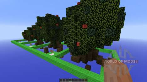 Moordegaais awesome tree pack для Minecraft