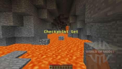 Cave Parkour для Minecraft