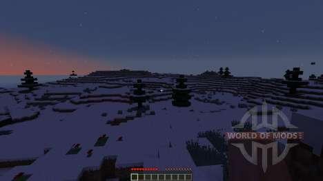 Snow Adventure Map для Minecraft
