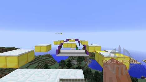Awesome Mega Parkour для Minecraft