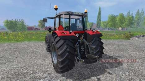 Massey Ferguson 6480 v2.0 для Farming Simulator 2015