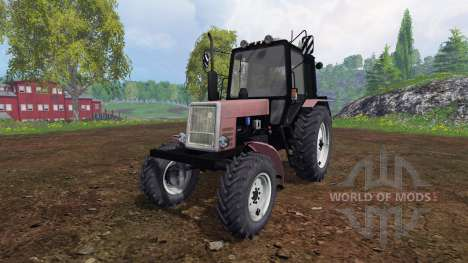 МТЗ-1025 Беларус v1.2 для Farming Simulator 2015