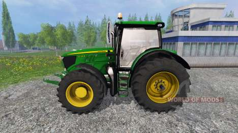 John Deere 6130R v2.0 для Farming Simulator 2015