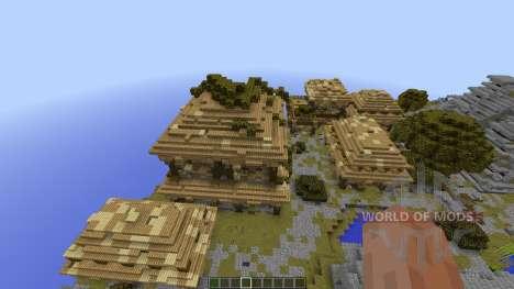 Azteque Forgotten Island для Minecraft