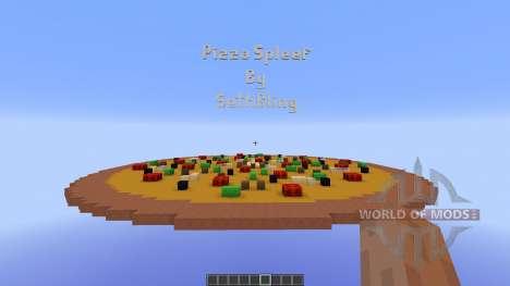 Pizza Spleef Minigame для Minecraft