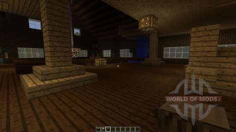 Island Bayou Mansion для Minecraft