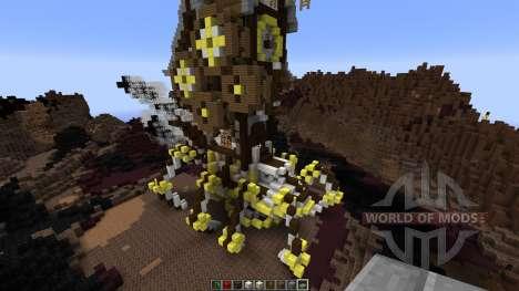 Mechanic steampunk spider для Minecraft