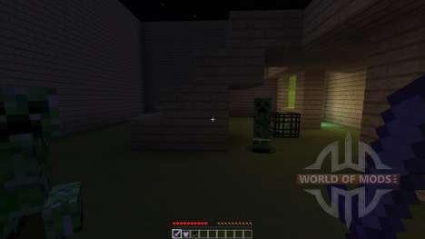 SUPER MOB BATTLE ARENA для Minecraft