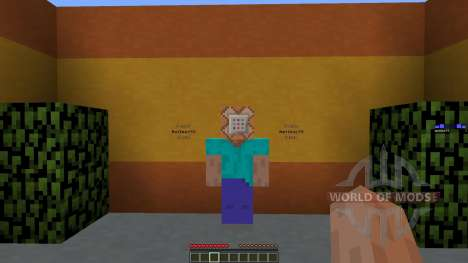 Eating Blocks для Minecraft