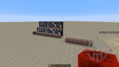 Banner Clock для Minecraft