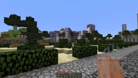 Minecropolis для Minecraft
