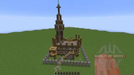 Small Medieval Fort для Minecraft