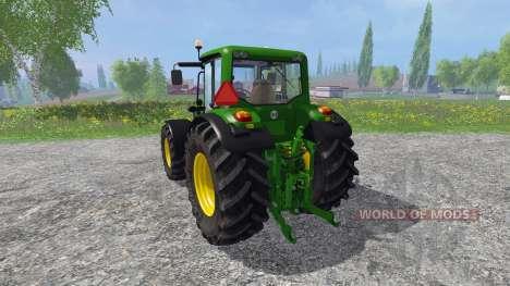 John Deere 6930 Premium v3.0 для Farming Simulator 2015