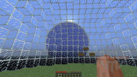 Glass sphere survival для Minecraft