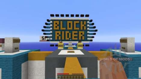 Block Rider для Minecraft