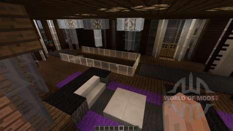 SkyHive Map для Minecraft