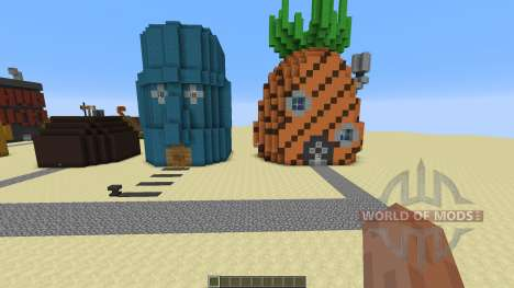 Spongebob Bikini Bottem для Minecraft