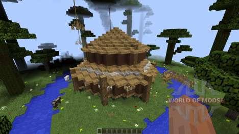 Clifftop Village [1.8][1.8.8] для Minecraft