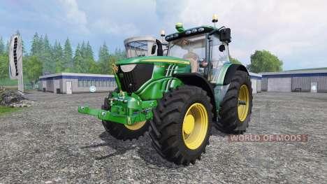 John Deere 6210R v1.1 для Farming Simulator 2015