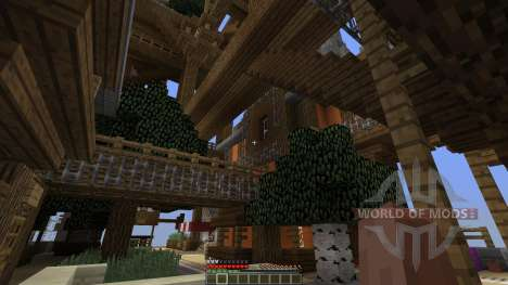 CloudHaven The Floating City для Minecraft