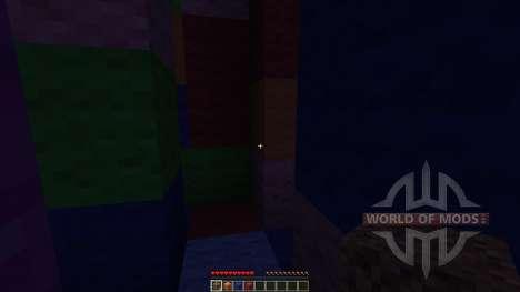 Wool Maze для Minecraft