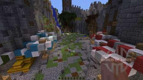 Wilcuth Valley Medieval Castle для Minecraft