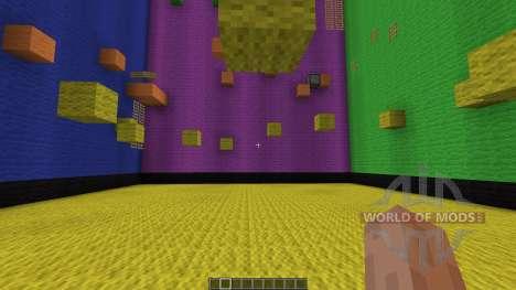 Rubix Cube Parkour для Minecraft
