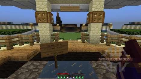Olympus Temple для Minecraft