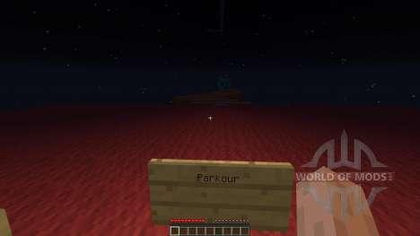 X-Run Parkour для Minecraft