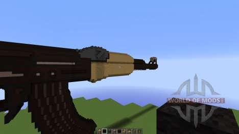 AK rifle [1.8][1.8.8] для Minecraft