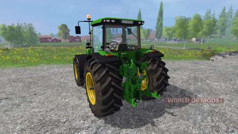 John Deere 8360R v3.0 для Farming Simulator 2015