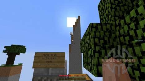 SkyChunk: Survival on 14 little chunks для Minecraft
