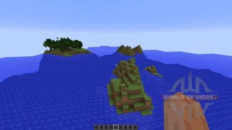 Custom Terrain: New Pixel для Minecraft