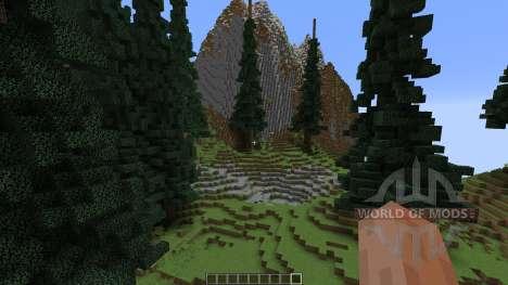 Trikula Island для Minecraft