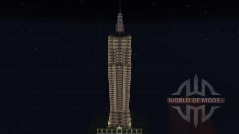 Empire State Building для Minecraft