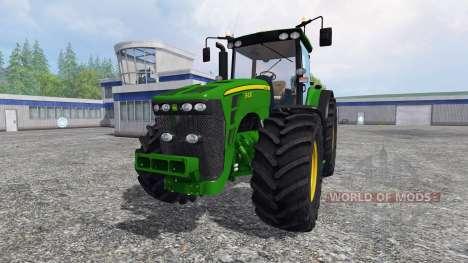 John Deere 8430 v2.0 для Farming Simulator 2015