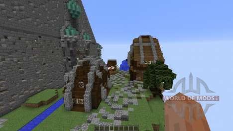 Cirrane The Forgotten Town для Minecraft