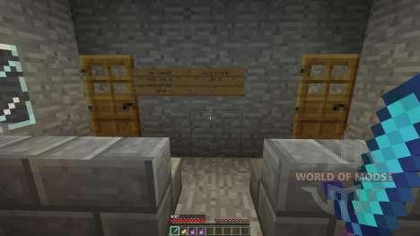 Tomb Adventure Map для Minecraft