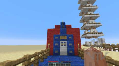 ESPM: the extremely small and pointless map для Minecraft