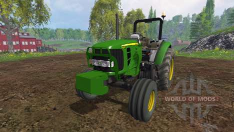 John Deere 5055 v2.0 для Farming Simulator 2015
