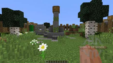 The 1v1 Zone для Minecraft